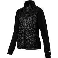 Puma W pwrwarm Extreme Jacket–Puma Black, Deutsche Bundesliga, mujer, color beige, tamaño small