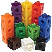 HiDear MathLink Cube Big Builders, Imaginative Play, Math Cubes, Early Math Skills, Set of 100 Cubes, Math Cubes, Early Math Skills, Set of 100 Cubes