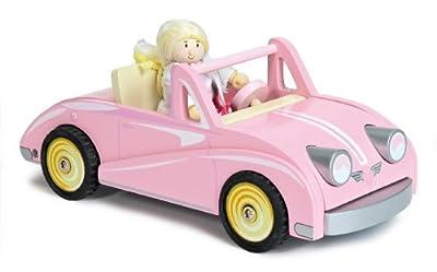 Le Toy Van TV480 - Muñeca con coche descapotable de Le Toy Van