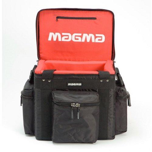 Magma LP 60 Profitasche für 40 Platten, schwarz-rot