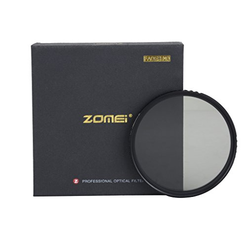 Zomei variabler ND-Filter, 58 mm, ABS-Slim, verstellbare Graufilter, ND2-400 Filter.