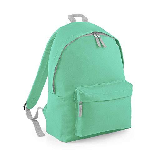 BagBase: Fashion Rucksack BG125, Größe:One Size;Farbe:Mint Green/Light Grey (Mint Green Light)