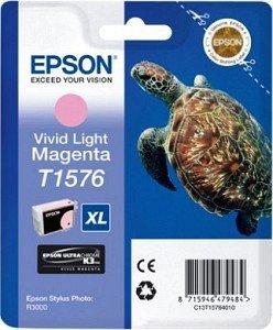 Preisvergleich Produktbild Epson T1576 Tintenpatrone Vivid Light Magenta