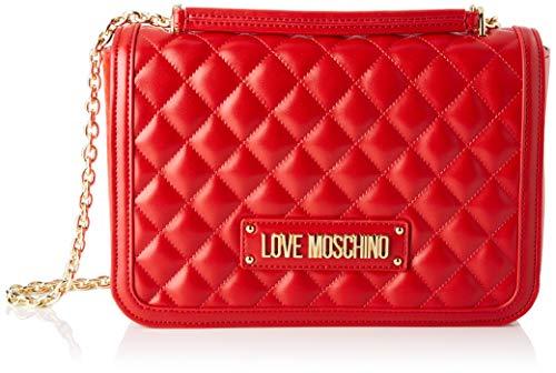 Love Moschino Borsa Quilted Nappa Pu Tracolla Donna, (Rosso), 6x19x28 cm (W x H x L)