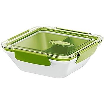 EMSA 513952 Bento Box Lunchbox Grün//Grau