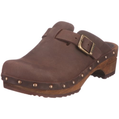 Sanita Damen Kristel open Clogs, Braun (Antique Brown 78), 39 EU - Angeln Für Stiefel Frauen