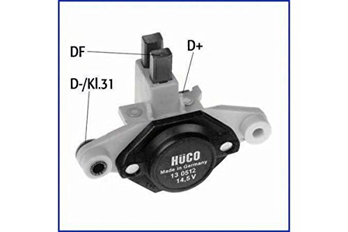 Preisvergleich Produktbild Hüco Generatorregler Regler Lichtmaschinenregler Spannungsregler (130512)