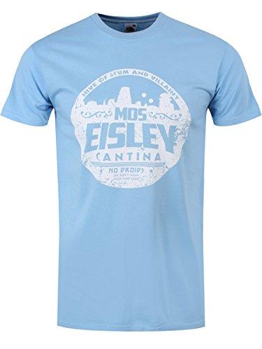 Grindstore MOS Eisley Cantina Männer T-Shirt blau