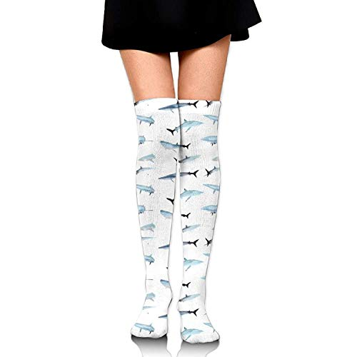 ng Women Fashion Thigh High Socks Cotton Socks for Girls ()