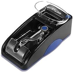 ALLOMN Machine A Rouler Electrique De Cigarette, Mini Machine de Remplissage Electrique Portative Automatique de Cigarette D'injecteur de Tabac