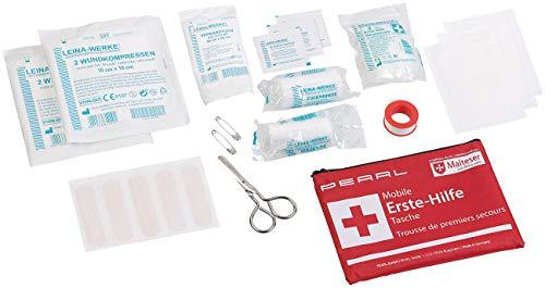 PEARL Erste Hilfe Set: Mobile Erste-Hilfe-Tasche, wasserabweisend, 24-teilig (Sport-Erste-Hilfe-Kit) Erste Mobile