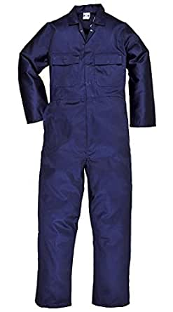 31b4ed4aaca Super Save Direct uk Mens Boiler Suit Overall Coverall Work Boilersuit (M)