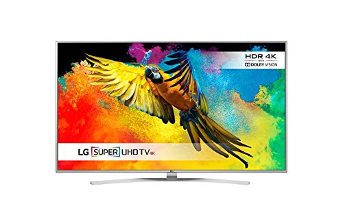 LG 49UH770V 49 inch Super Ultra HD 4K Smart TV webOS (2016 Model) - Silver