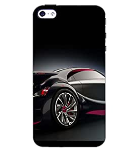 PrintDhaba CONCEPT CAR D-6440 Back Case Cover for APPLE IPHONE 5 (Multi-Coloured)