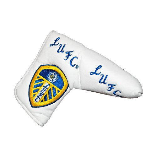 Leeds United Blade Golf Putter Cover - White/Blue/Yellow