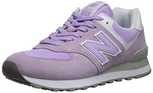 New Balance 574v2, Zapatillas para Mujer, Rosa (Violet GLO/White ESD), 39 EU