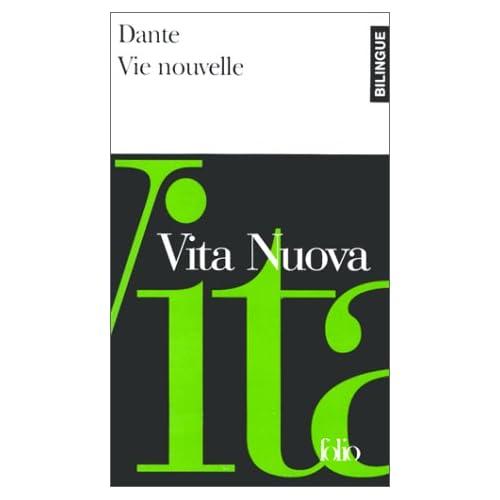 Vie nouvelle, édition bilingue (français/Italien)