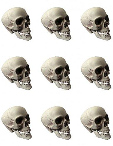 WIDMANN S.R.L., 9 Skulls In Bag Cm (Kostüm Inventar)