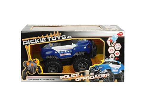 Dickie Toys - 201119056 - Véhicule - Police Offroader - Radiocommandé