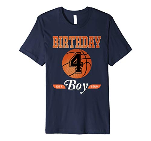 4th Birthday Shirt Boy