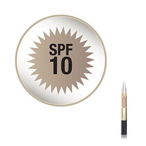 Max Factor Mastertouch Concealer Ivory 303 - Flüssige Grundierung - Augenringe abdecken und Rötungen kaschieren - 1 x 15 g