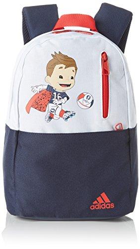 Navy Fußball-maskottchen (adidas Kinder Rucksack Euro 2016 Mascot, Navy/Weiß/Rot, 15 x 30 x 46 cm, 12 Liter, AI4990)