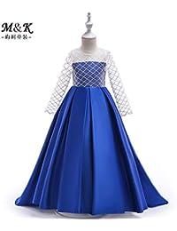 Vestidos de noche para boda color azul