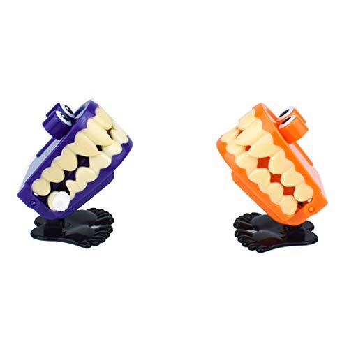 TeasyDay Halloween Spielzeug, uhrwerk springen prothese, pädagogisches mechanisches Spielzeug, Halloween streich Dekoration, Keine notwendigkeit von batterien, mechanischer Motor, - Polizei Kostüm Streich
