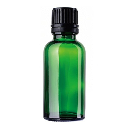 Bodhi2000 30ML Glasflasche mit Trichter, nachfüllbarer Behälter für ätherische Öle, Chemielaborchemikalien, Kölnischwasser und Parfums -