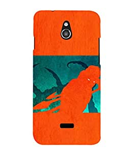 EPICCASE the monster Mobile Back Case Cover For Infocus M2 (Designer Case)