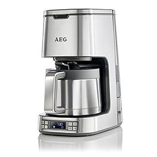 AEG-Kaffeemaschine-PremiumLine-7Series-KF-7900-125-L-Thermokanne-LCD-Display-Timer-Goldton-Kaffeefilter-Abschaltautomatik-Edelstahl