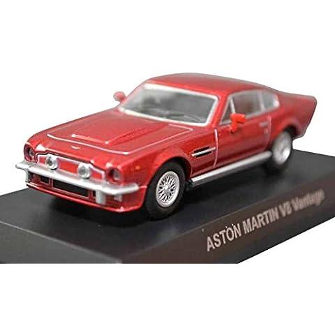 Centennial Circle K Sunkus collezione minicar 1/64 V8 Vantage Red singolo articolo Kyosho Aston Martin (japan