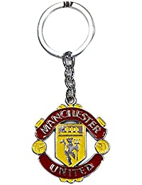 AyA Fashion Manchester United Football Club Sports Metal Keychain | Key Ring For Car Bike Home Office Keys | Key...