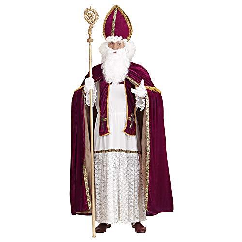 Kostüm Komisch Santa - Widmann 1550P Erwachsenenkostüm Bischof, mens, Large