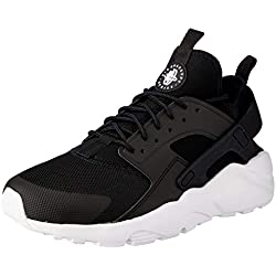 Nike, Air Huarache Run Ultra, Scarpe Running, Uomo, Nero (Black/White 016), 44.5 EU
