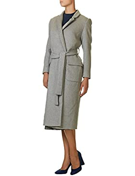 Glamorous Women's Women's Beige Long Coat 100% Polyester