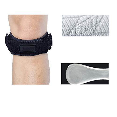 Sportschutz Knie Professionelle Meniskusverletzung Basketball Bergsteigen Badminton Laufen Schutzausrüstung Fitness 2er Pack XINYALAMP (Size : L)