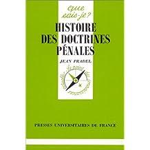 Histoire des doctrines pénales