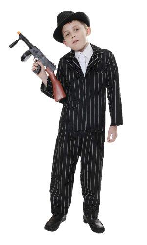 (Gangster 1920 ist für Kinder Kostüm 7-9 Jahre)