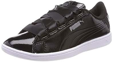 Puma Unisex-Erwachsene Vikky Ribbon P Sneaker, Schwarz Black Black 01, 38.5 EU