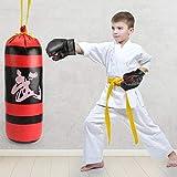 miss-an Enfants Punch Bag Set Mini Manuel Cerveau Intelligence Développement Boxe Jouet Ensemble avec des Gants...
