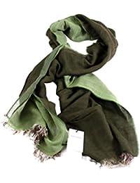 GEOSPIRIT Herrenschal WILCKE in Farbe Grün