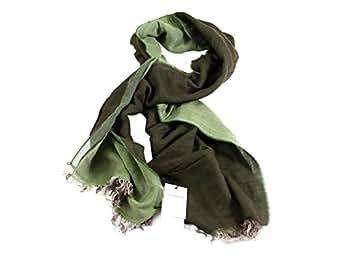 GEOSPIRIT Herrenschal WILCKE in Farbe Grün One Size