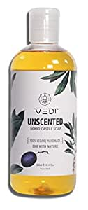Vedi Unscented Liquid Castile Soap (200Ml)