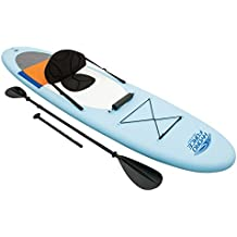 Lola Derek Bestway Coast Liner Lite - Juego de SUP y kayak, tabla de surf de remo hinchable, 320x 81x 12cm