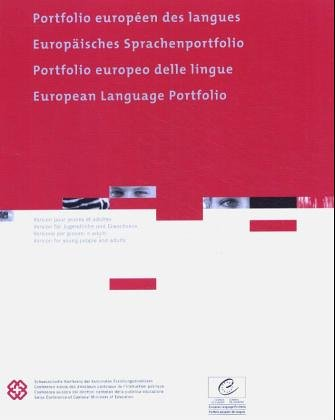 European Language Portfolio ELP III: Version for young people and adults