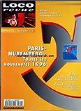 LOCO REVUE [No 591] du 01/04/1996 - LES MOUNTAIN EST DE LEMACO EN HO - UN REVE DE PRIX - PARIS-NUREMBERG - UNE ROTONDE EN N - CAHIER VOIE LIBRE 8 - LE PLAN DU SALON - REEL - LE DEPOT DE CALAIS.