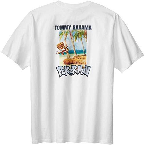 Tommy Bahama Pokerman Large White T Shirt -