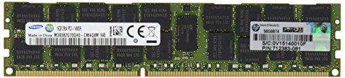 HP 708641-B21 Memoria RAM 16GB, DDR3 PC3-14900R, Verde