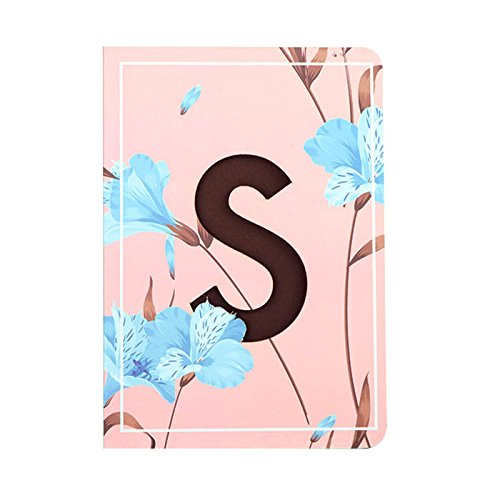 Doodle Initial S Lasercut Diary Notebook, B6 (7 X 4.75 X 0.5 Inches), 192 Pages, 80 GSM, Birthday gift for Girls